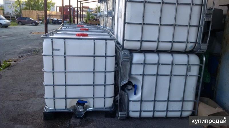 Продам пластиковые кубы на 1000л., бочки пластик, металл б/у.