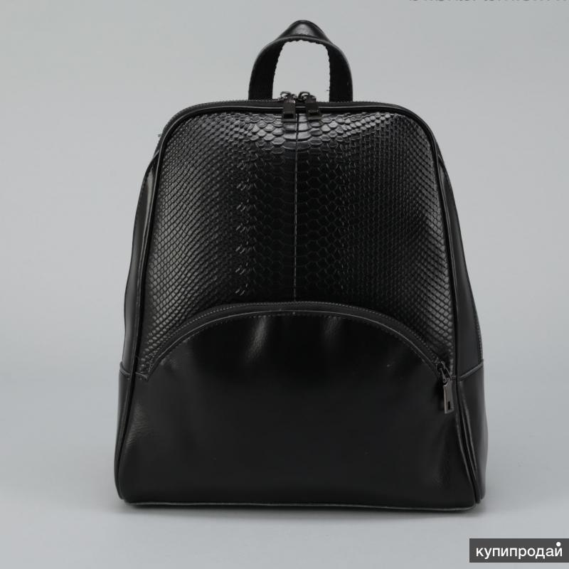 Рюкзак черный рептилия