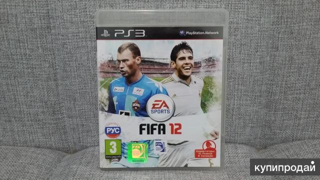 Игра FIFA 12 для PS3 лицензионная