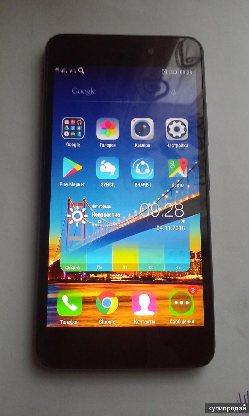 Телефон Lenovo s60a.
