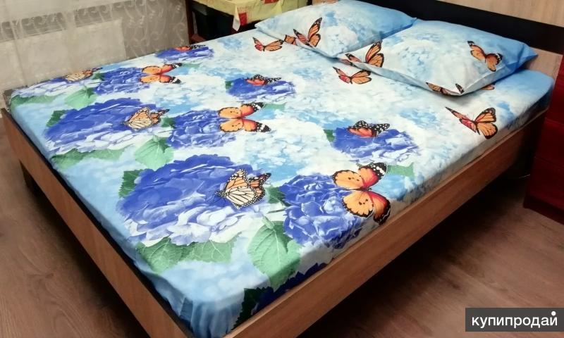 Постельное белье, 2х спальное, новое.