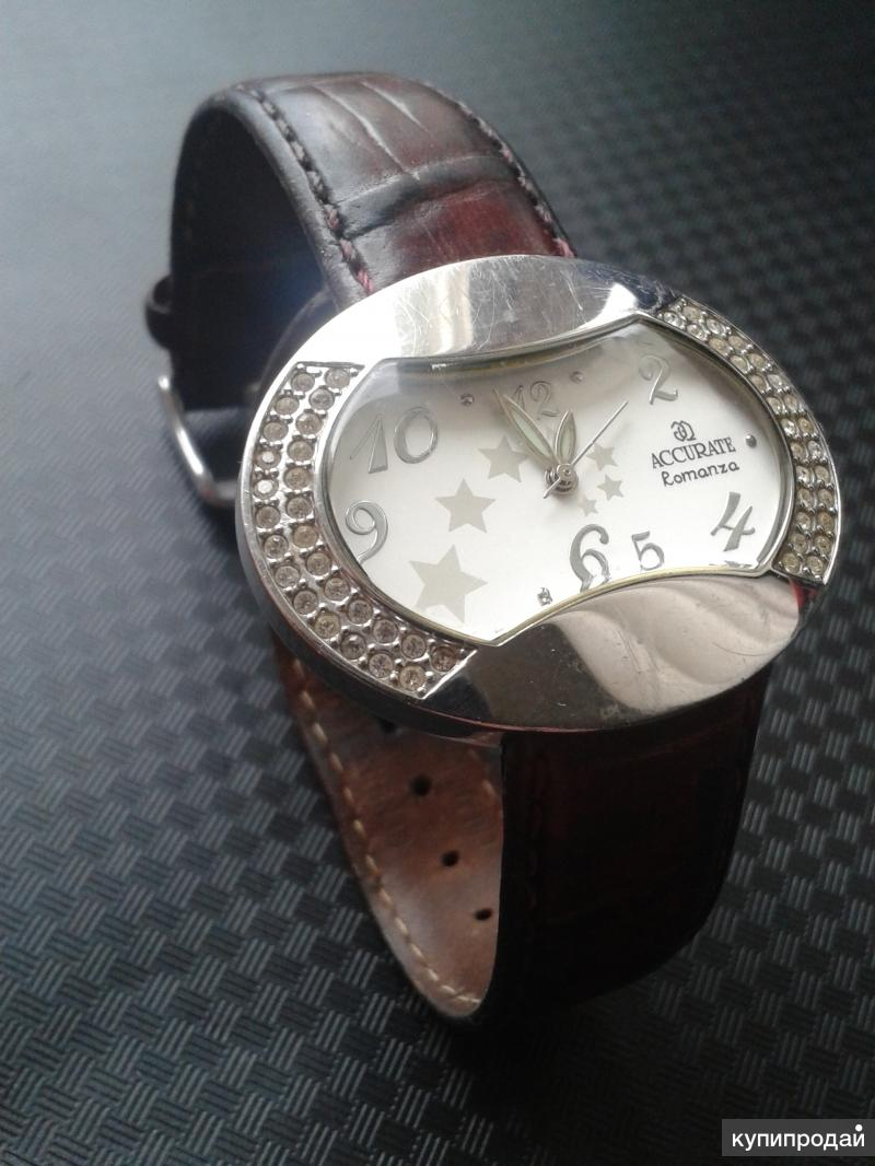 Женские швейцарские часы ACCURATE