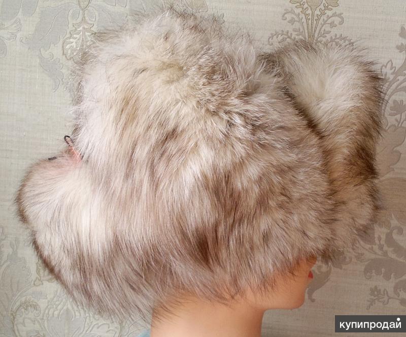 шапка меховая женмуж песцовая (7)