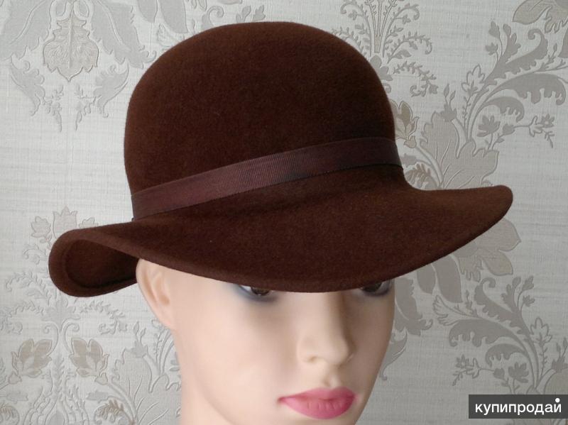 шляпа фетровая женская, СССР (1)