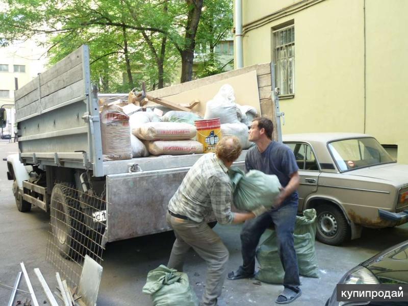 Вывоз строительного мусора, хлама, старой мебели «под ключ» – ТК «РазГруз»