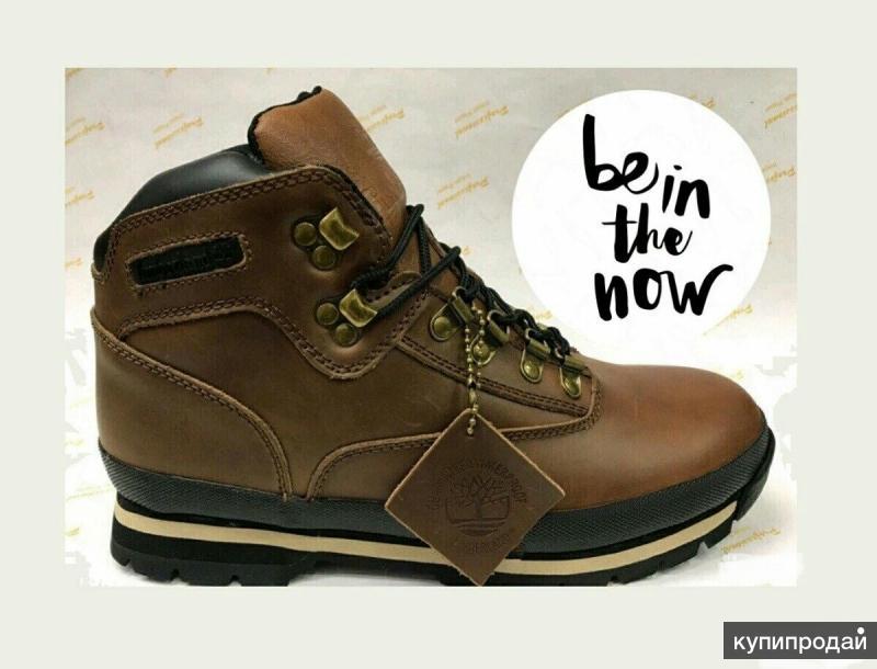 Новые зимние Timberland (натур. кожа, натур. мех) 40 размера ботинки