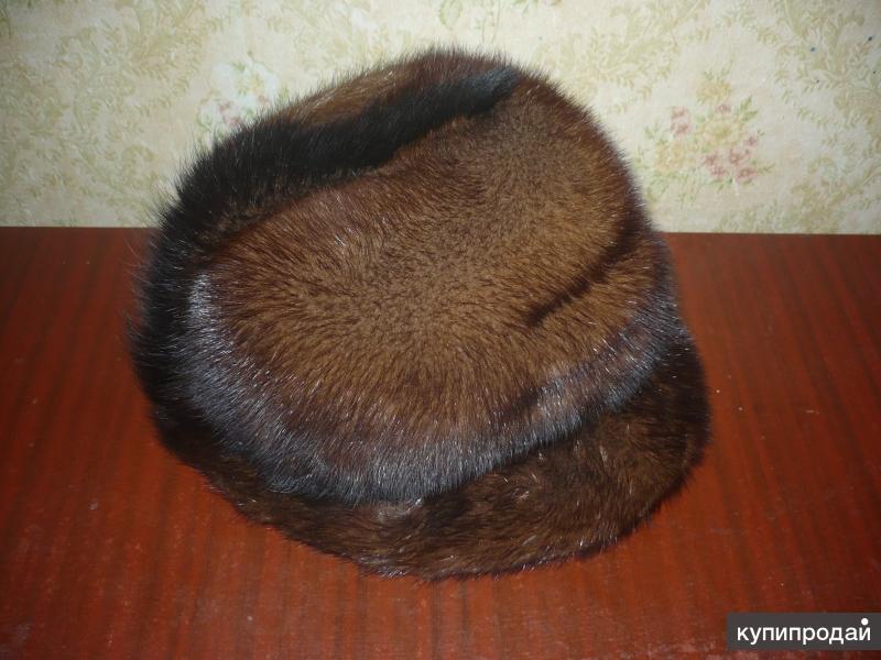 Норковая шапка женская.