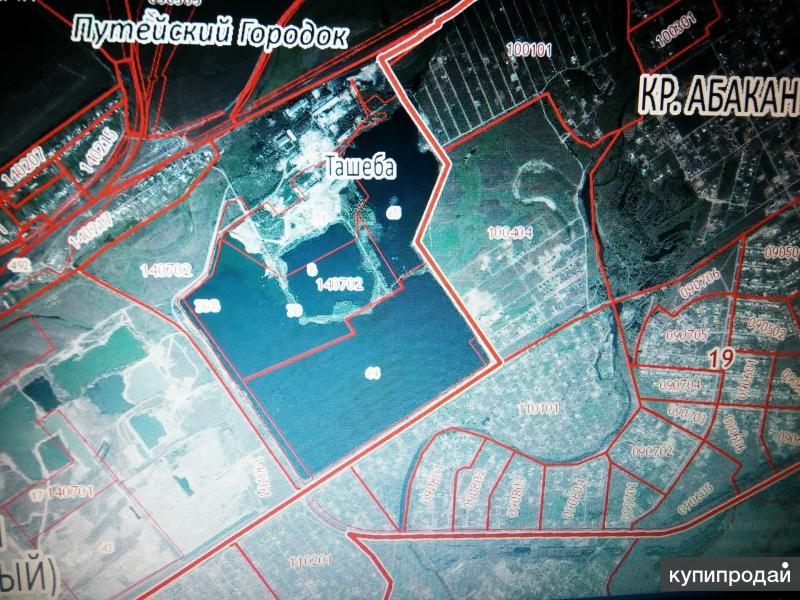 Продам участок берег Ташибинского озера