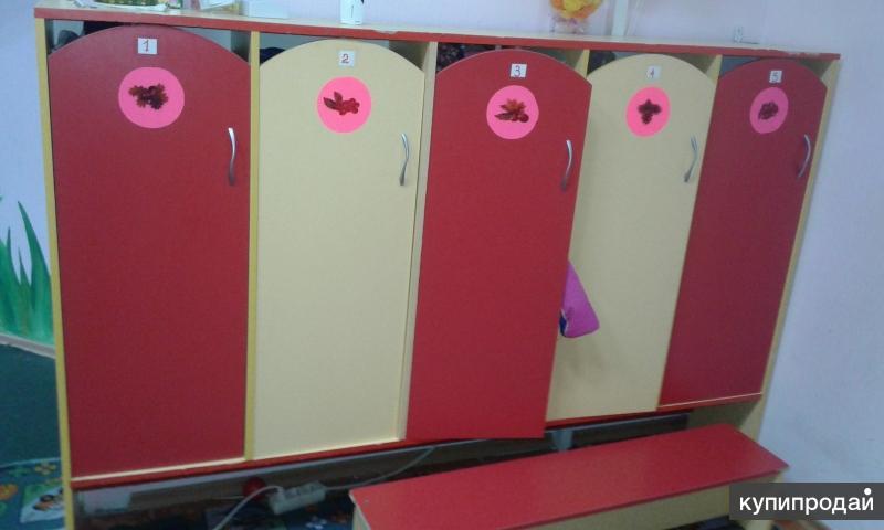 шкафчики для раздевалки за одну секцию (5шт)
