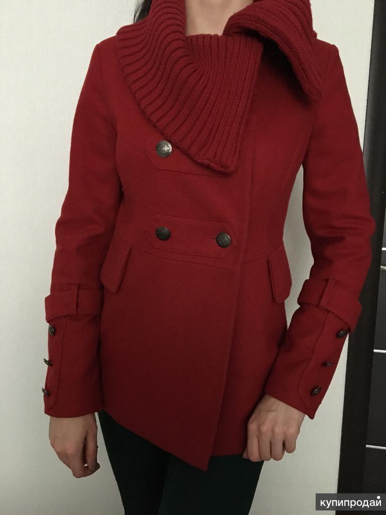 Продаю стильное полу пальто 42-44 р