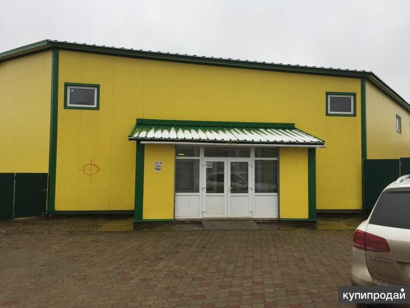Продам склад-магазин 1600 кв.м. в Калужской обл.
