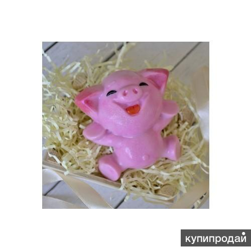 Форма пластиковая Веселая свинка