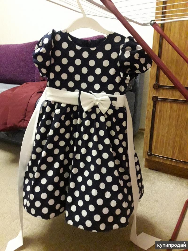 """Нарядное платье для девочки """"Стиляги"""""""