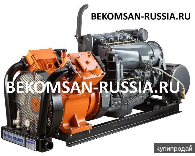 Дизельная компрессорная станция Bekomsan Esinti 102