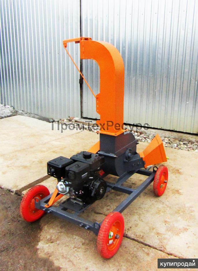 Измельчитель веток, древесины ЩДС-2 бензиновый (щепорез)
