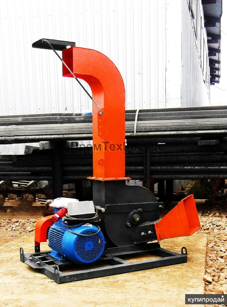 Измельчитель веток, древесины ЩДС-2 электрический (щепорез)