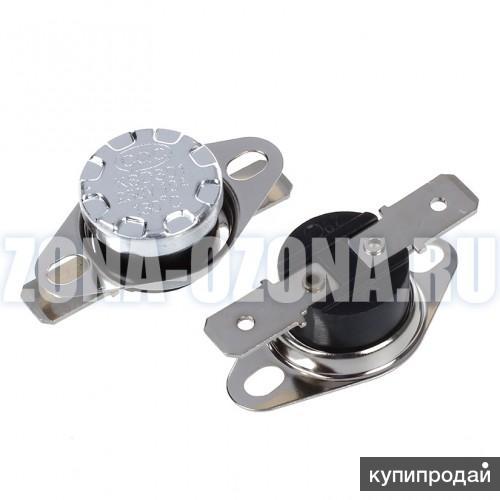 Купить недорого термо-предохранитель KSD-301, 45°C, 250V, 10A.
