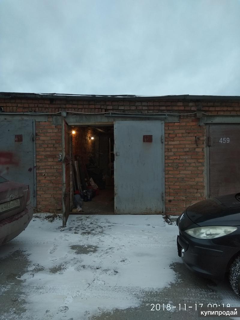 Капитальный кирпичный гараж 6х3 м