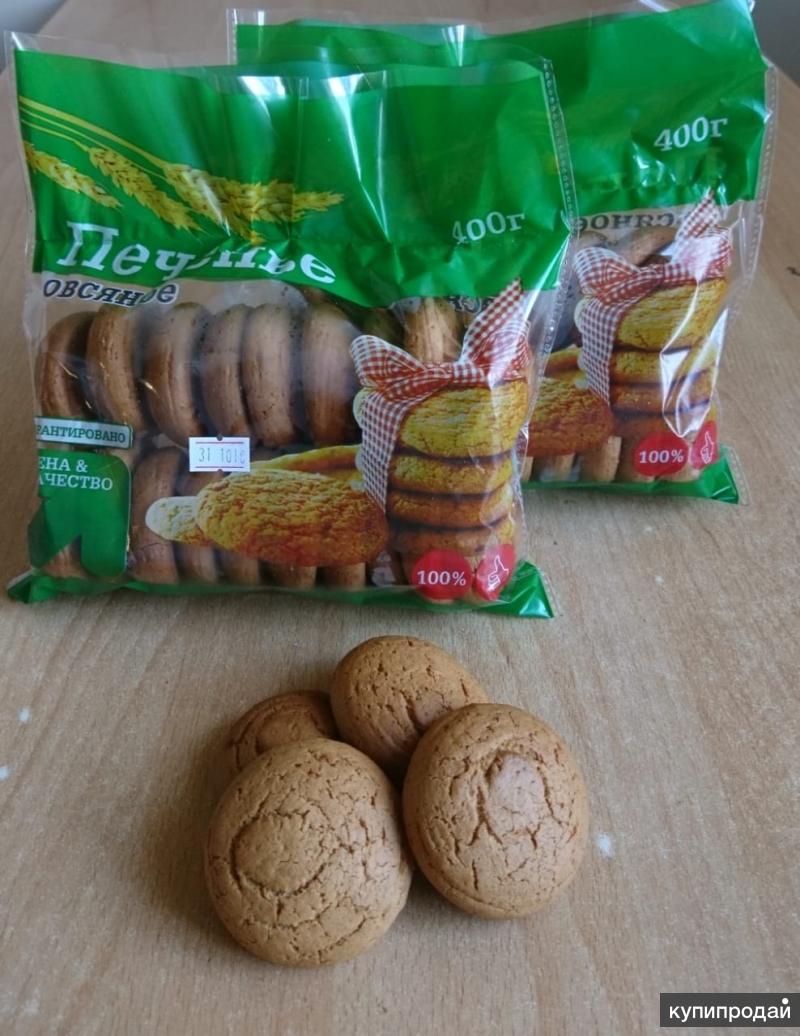 печенье овсяное от производителя