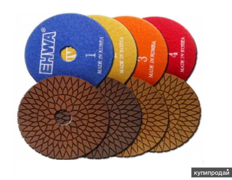 Алмазные гибкие диски ehwa 4-х шаговые Корея