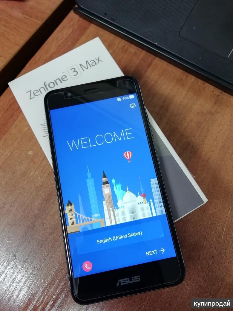 Продаю Asus Zenfone 3 Max (ZC520TL)