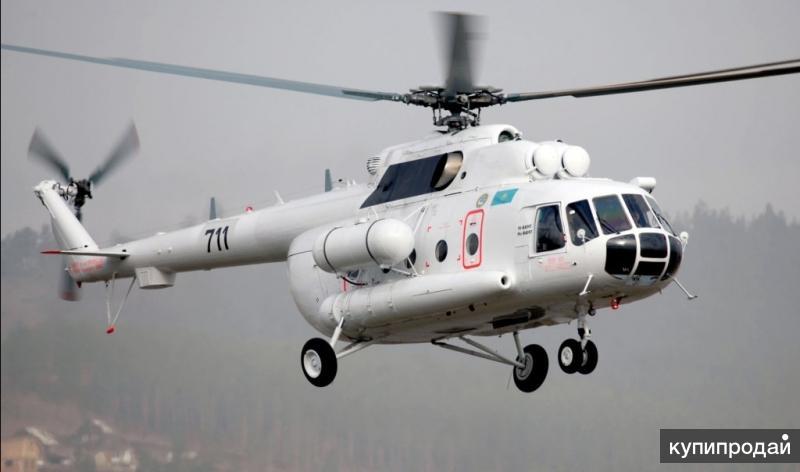 Выгодная аренда вертолета Ми-8