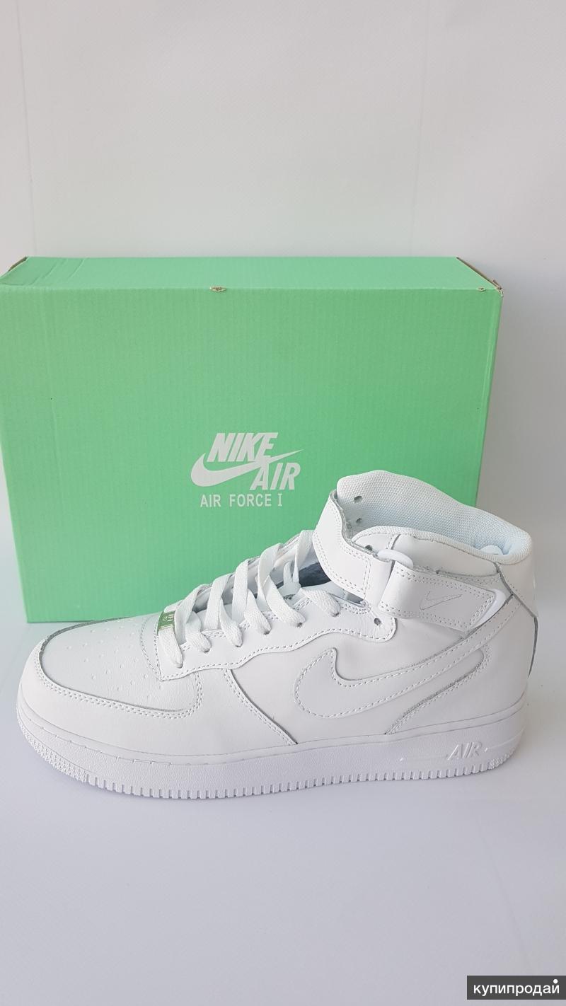 Nike Air Force, зима, с мехом