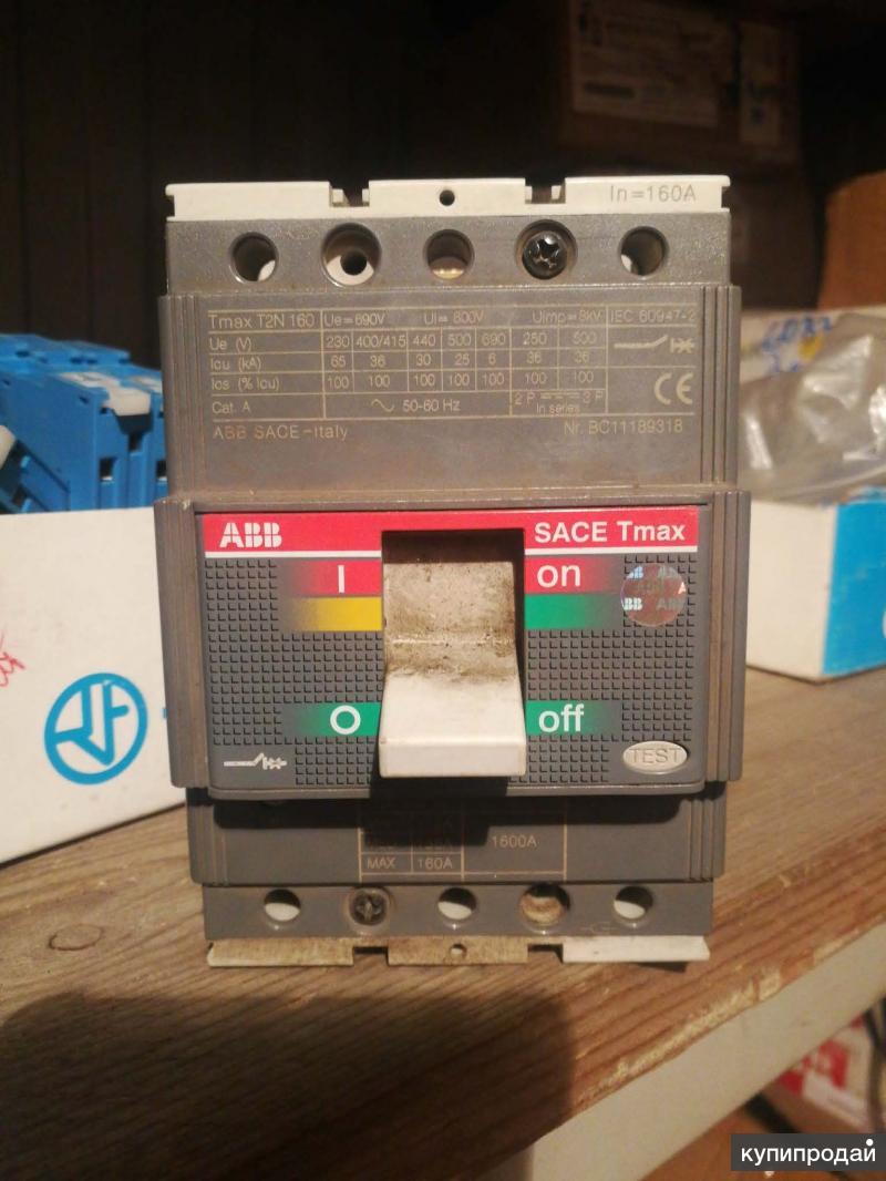 Продам Автоматический выключатель АВB 160А (BC11189318)