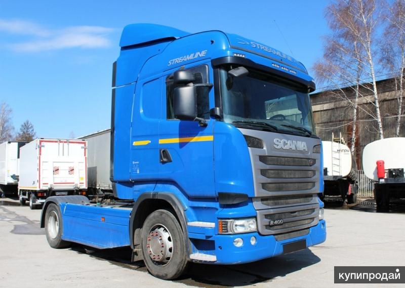 Тягач Скания Scania R400 2015 год
