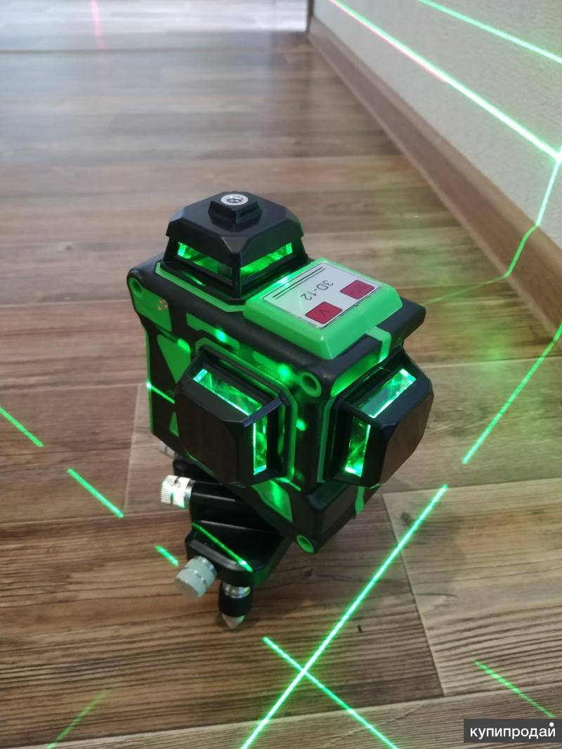 Лазерный уровень 3д на 360 градусов