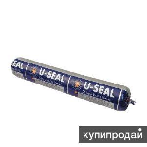 Клей-герметик высокомодульный U SEAL 500 черный/серый/белый (600 мл)