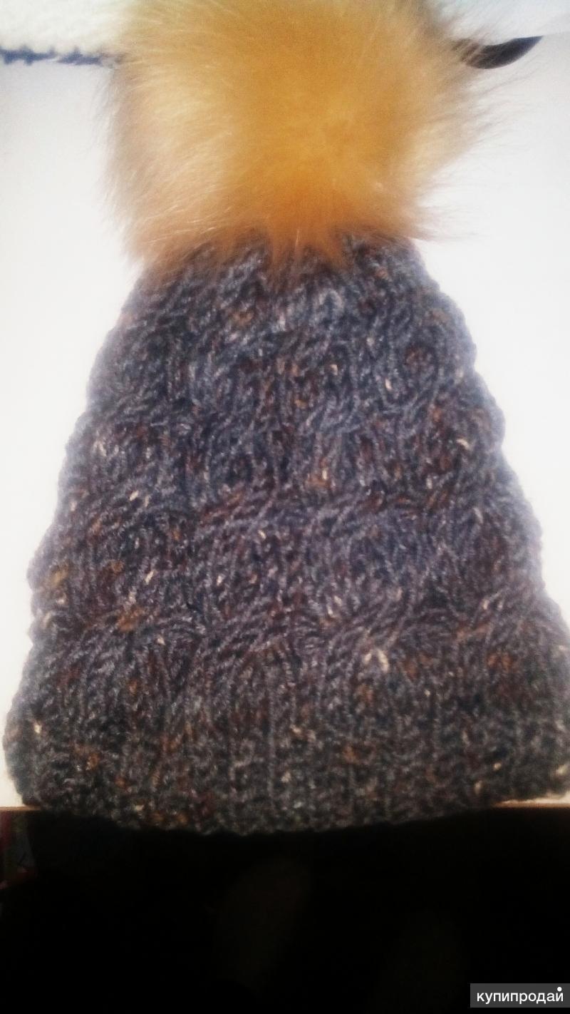 Комплект зима шапка и снуд