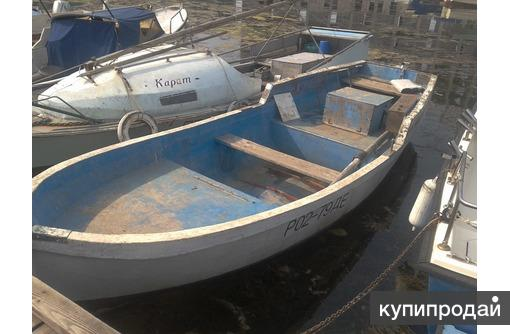 Лодка Ял 6 с местом на причале Севастополь. Регистрация РФ.