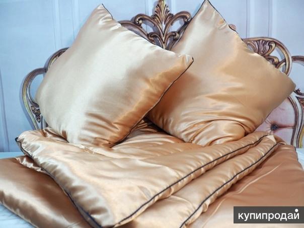 Одеяло Экофайбер Золотой шелк