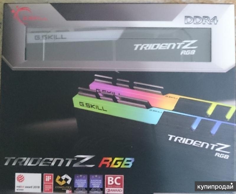 G.Skill Trident Z RGB 16GB DDR4 3200MHz CL16