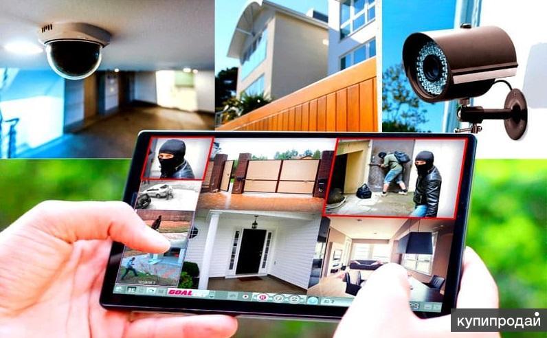 Видеонаблюдение, сигнализации, видеодомофоны