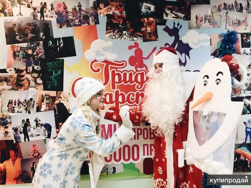 Дедушка Мороз и Снегурочка на Новый Год