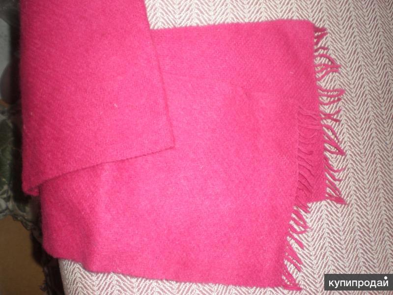 шарф шерстяной новый