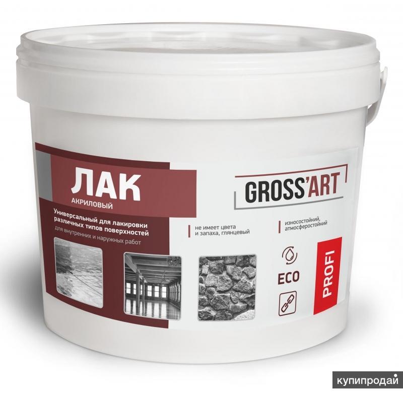"""Лак универсальный акриловый """"Gross'art"""" PROFI"""