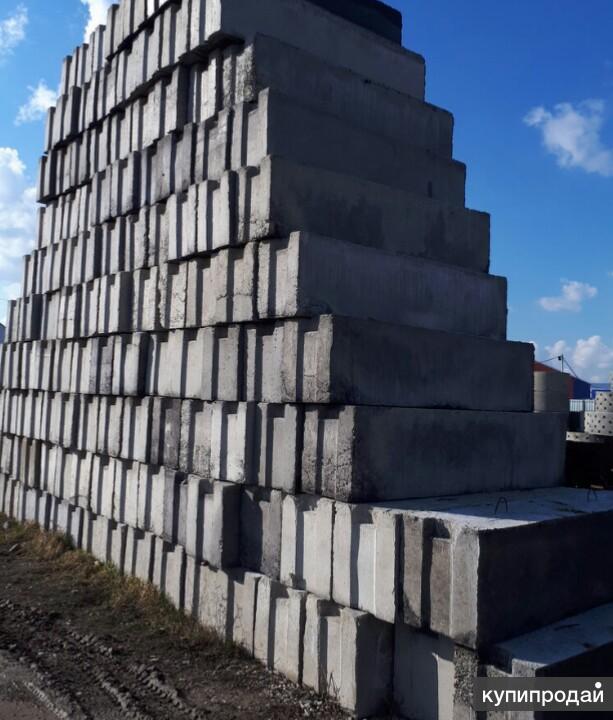 Фундаментные блоки ФБС ЖБИ