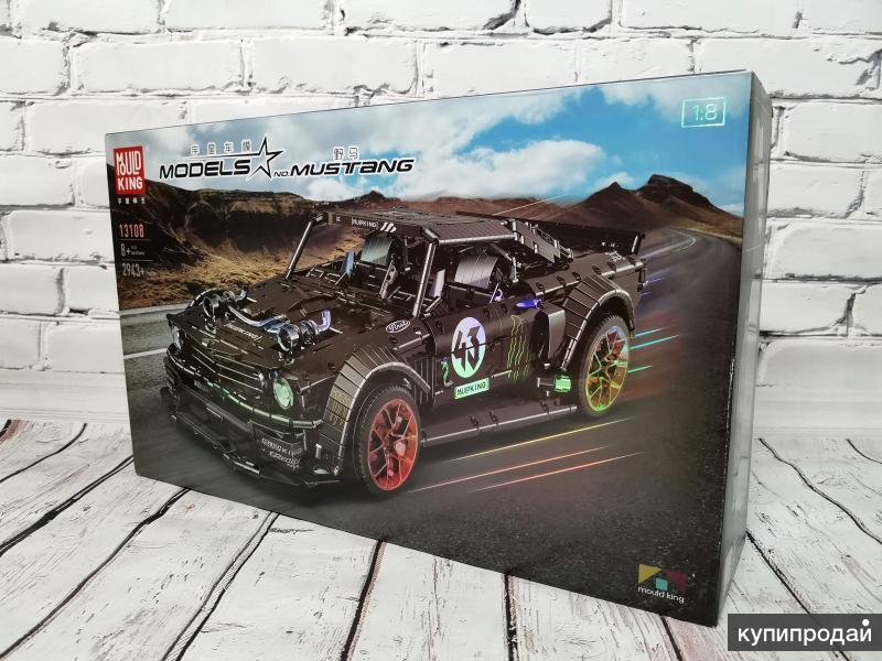 Конструктор Mould King 13108 - Ford Mustang (аналог LEGO)