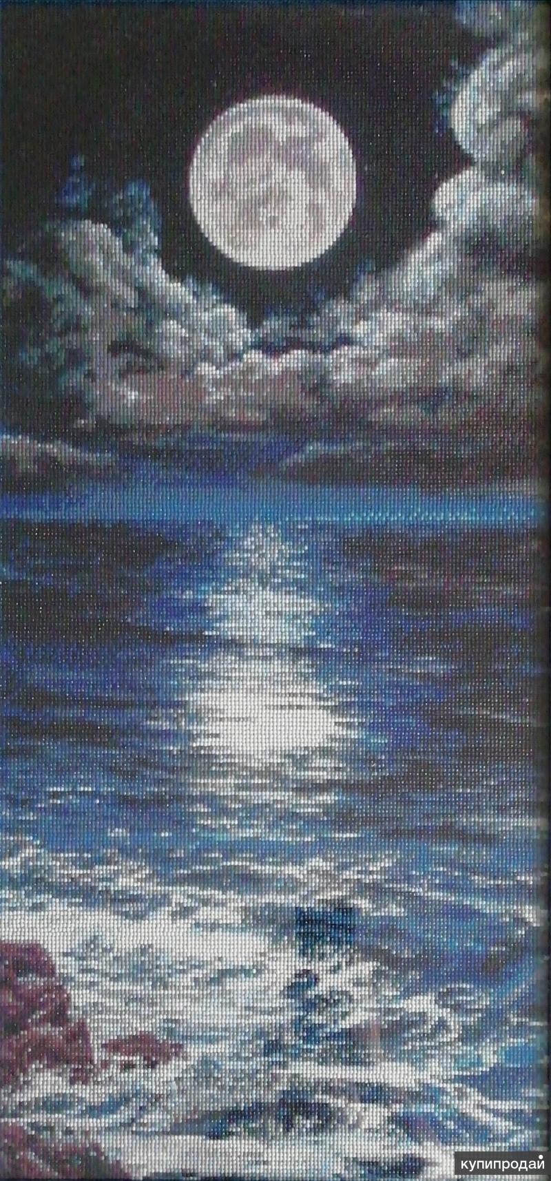 Картина Ночное море