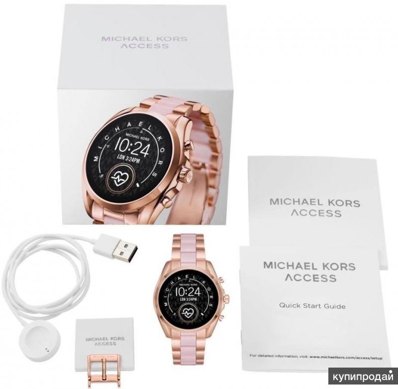 Умные наручные часы Michael Kors MKT5090 с хронографом