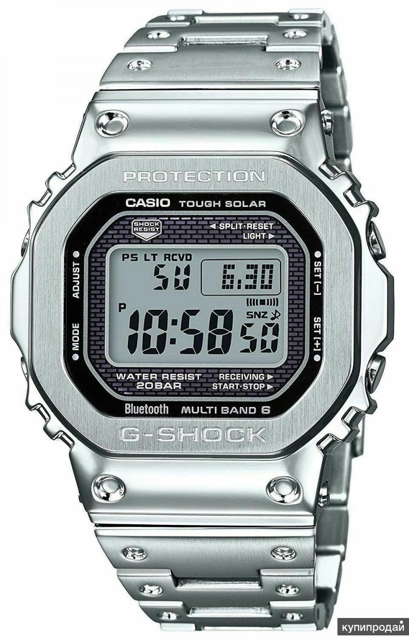 Японские наручные часы Casio G-SHOCK GMW-B5000D-1E с хронографом