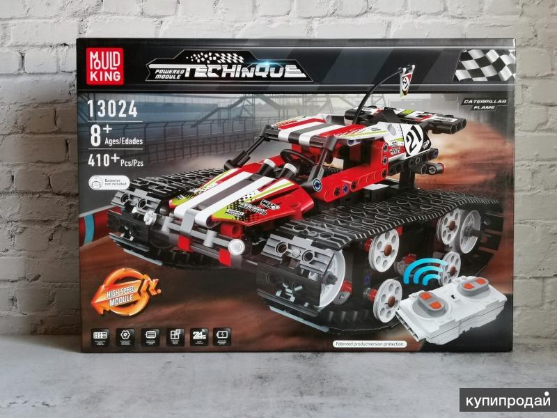 Конструктор с ДУ Mould King 13024 - Вездеход красный (аналог LEGO)