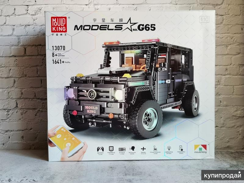 Конструктор с ДУ Mould King 13070- Mersedes Benz G-Class (аналог LEGO)