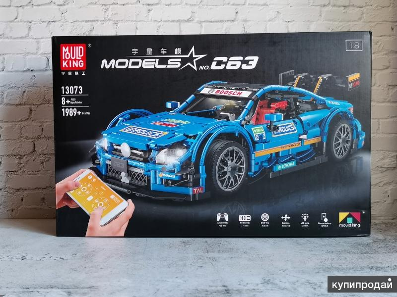 Конструктор с ДУ Mould King 13073 - Mersedes Benz C63 (аналог LEGO)