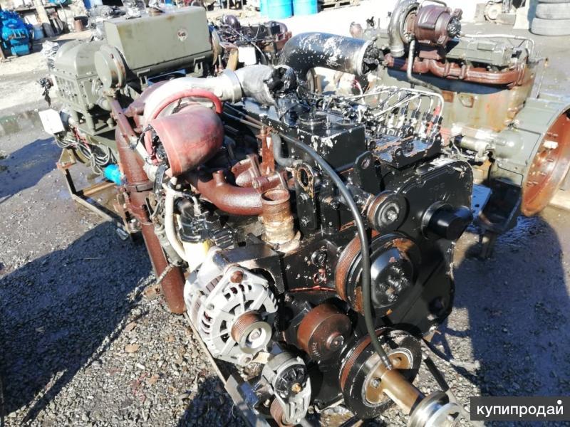 Двигатель бу Cummins 6CT8.3 с валом отбора мощности