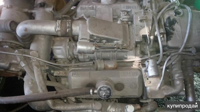 Двигатель судовой Detroit-Diesel 6V92