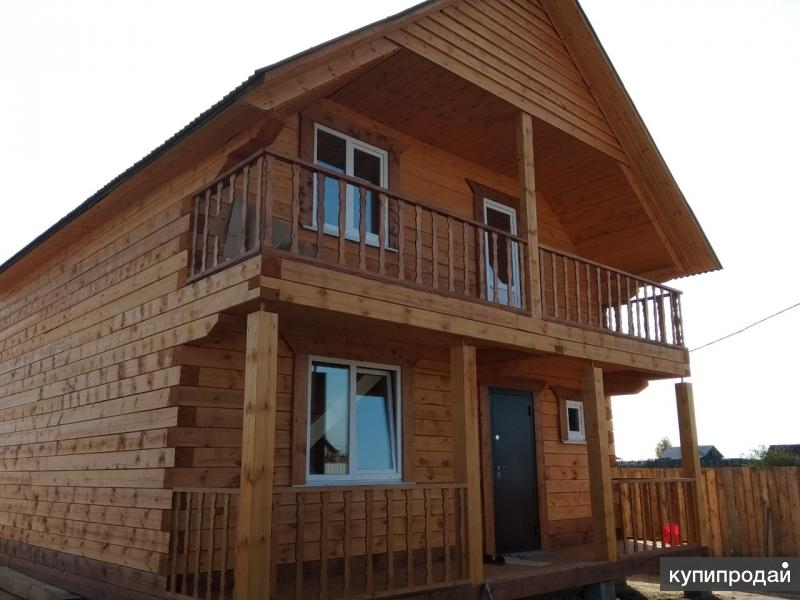Продаётся новый, двухэтажный дом площадью 120 кв.м.